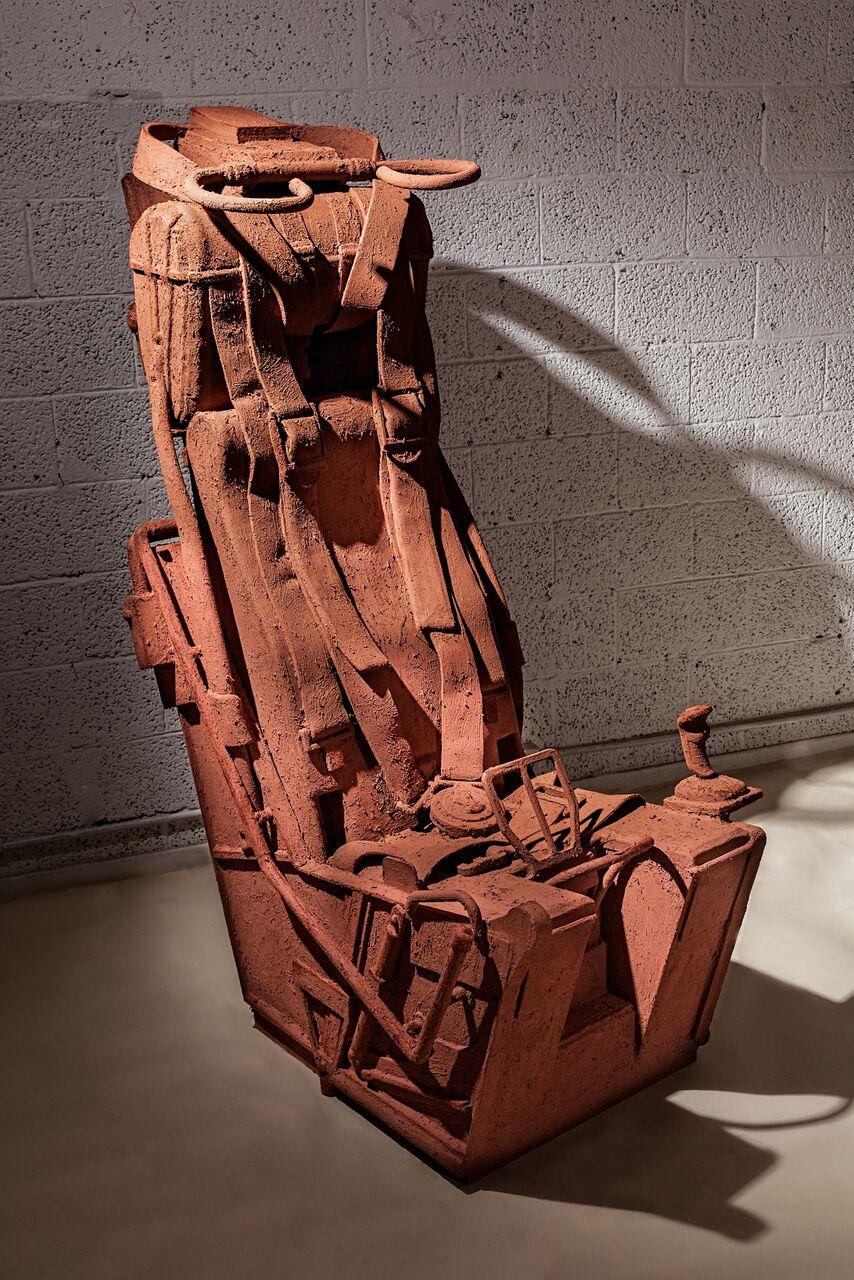 אנה פרומצ׳נקו כסא מפלט, מתוך התערוכה