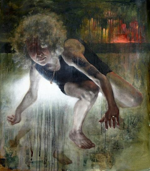 יאנה רישה, 2015, 140X120, שמן על בד