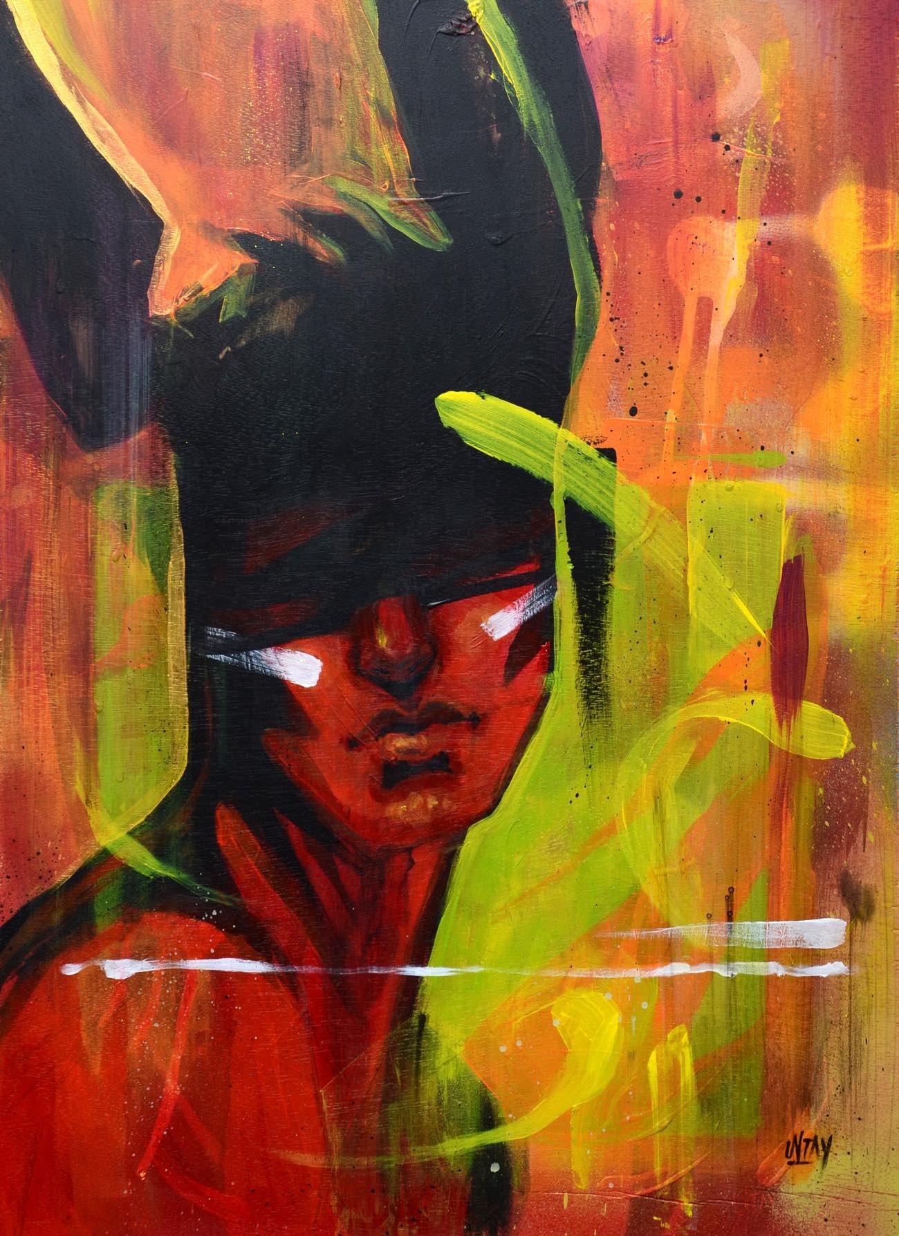 """בועז סידס Untay """"my life painting"""""""